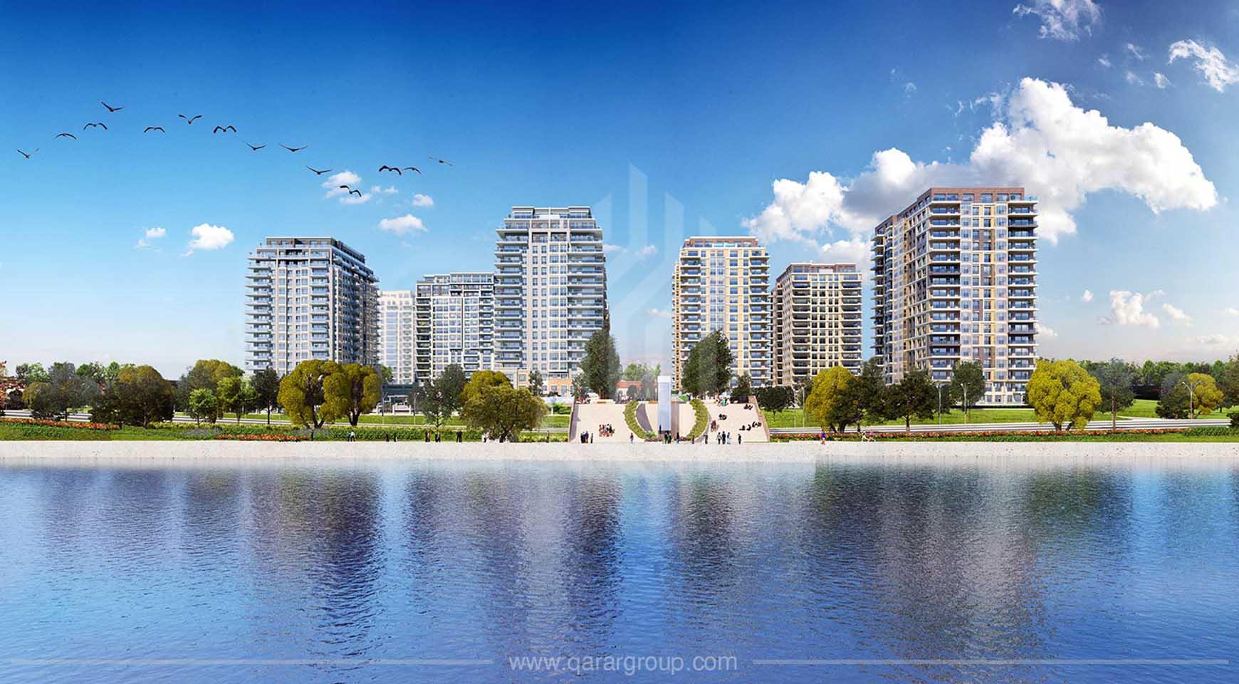 مجمع شقق الساحل الكبير في اسطنبول